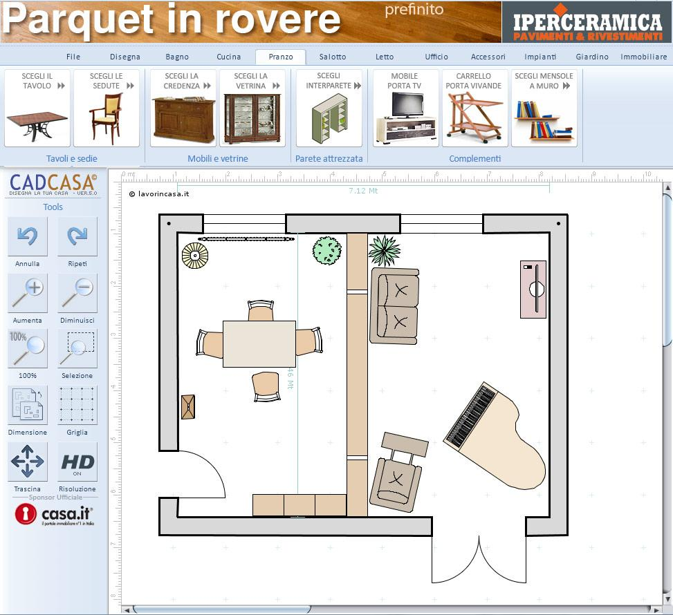 Cadcasa disegna la casa sul web for Case in 3d programma